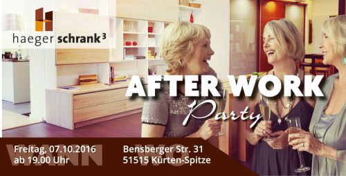 After Work Party - Haeger Schrank³